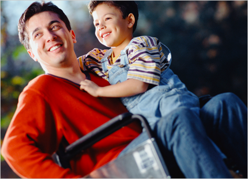 Medical Staffing Solutions for Father in Wheelchair